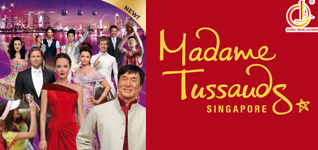 Madame Tussauds + Images of Singapore LIVE