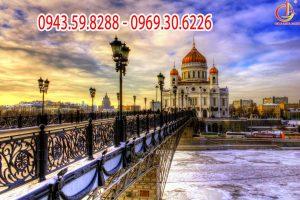 Tour du Lịch Nga: Saint Petersburg – Moscow 7 ngày 6 đêm