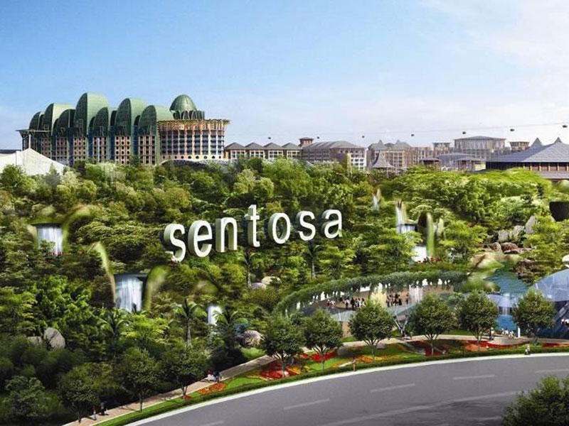 Du lịch Singapore khám phá đảo Sentosa