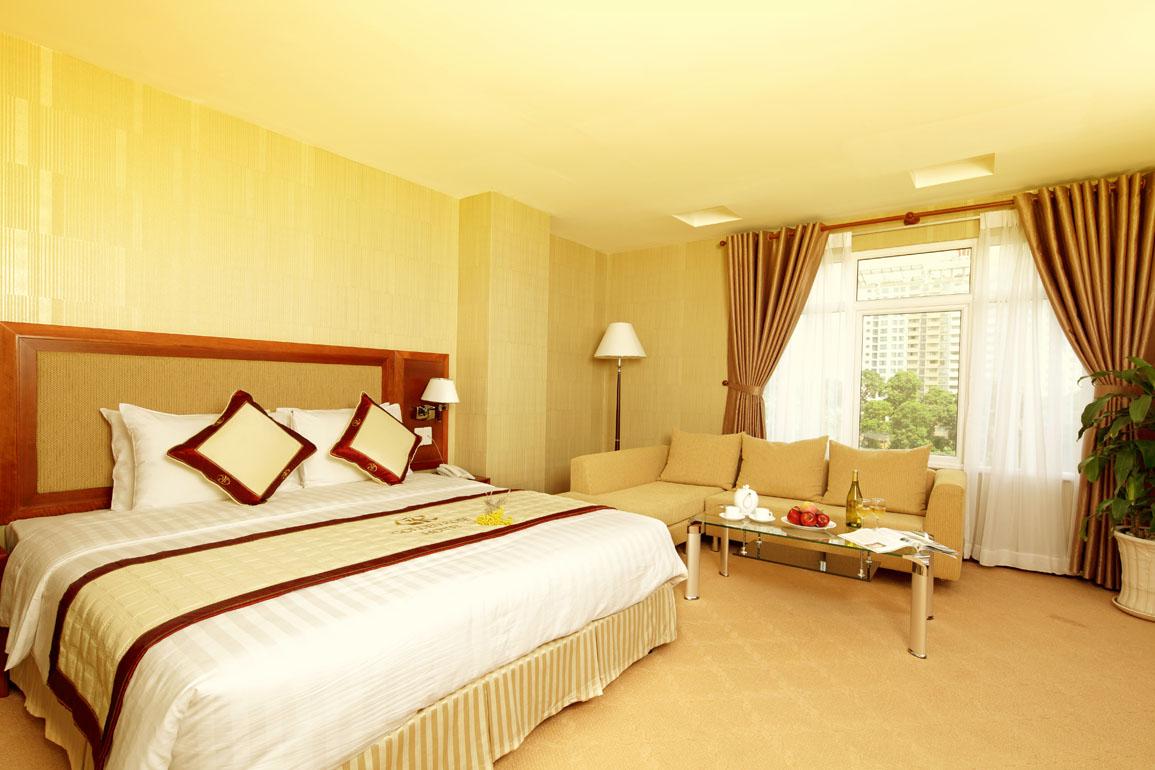 Phòng double trong khách sạn