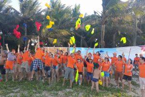 Team Building: GOLDSUN chào hè sôi động tại biển Cửa Lò
