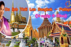 Du lịch Thái Lan Bangkok-Pattaya (4ngày 3Đêm)