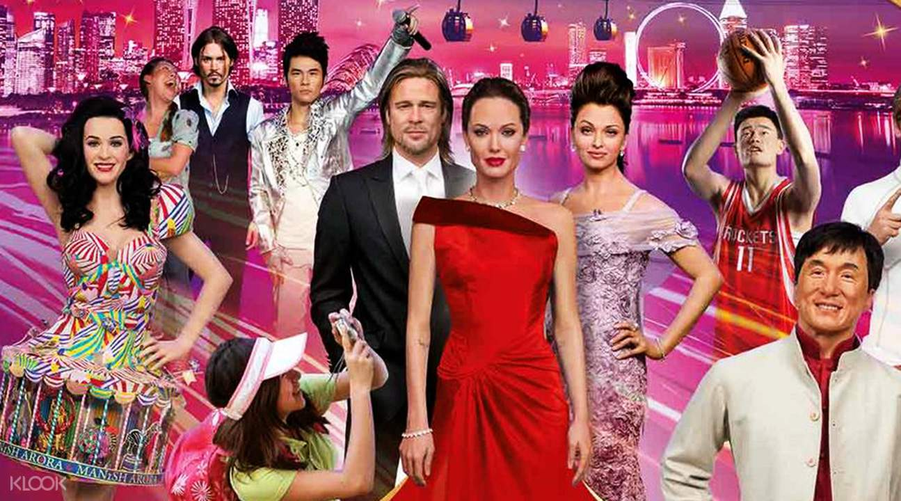Madame Tussauds + Image Of Singapore Live