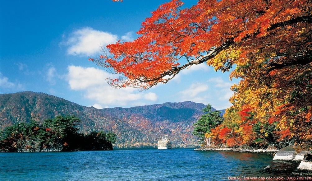 Vẻ đẹp mùa thu ở Đài Loan