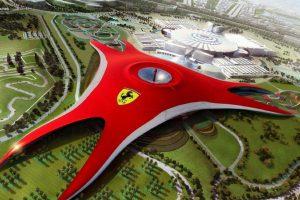 Khám phá hoạt động giải trí tại công viên Ferrari World Dubai