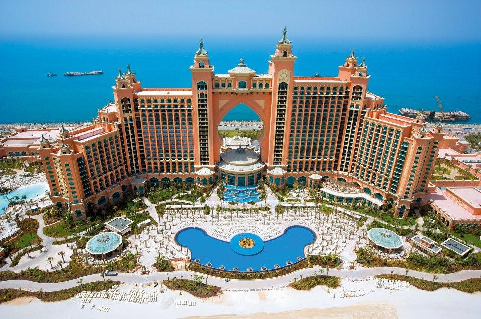 Quần đảo nhân tạo Palm Jumeirah Dubai