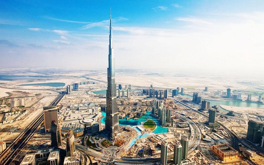 Tòa tháp Burj Khalifa