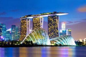 THƯỞNG NGOẠN VẺ ĐẸP CỦA VỊNH MARINA TẠI SINGAPORE
