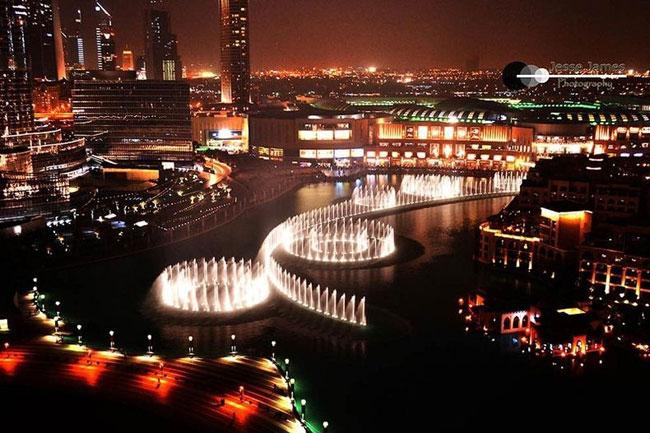 Đài phun nước Dubai – những điều khái quát nhất