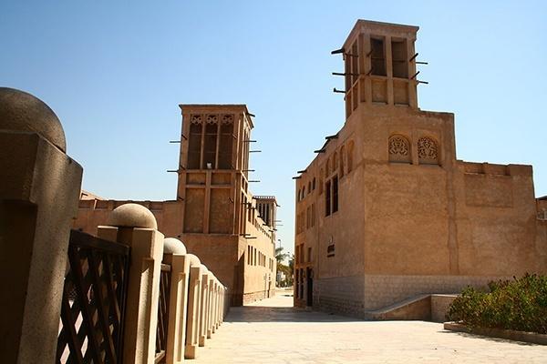 phố cổ Al Bastakiya
