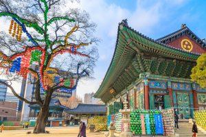Tour du lịch Hàn Quốc 5 ngày 4 đêm thăm quan chùa Tào Khê