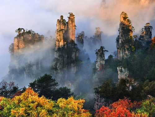du lịch Trương Gia Giới-Phượng Hoàng Cổ Trấn