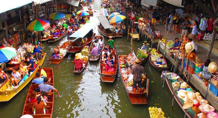 Chợ Nổi Bốn Miền Pattaya