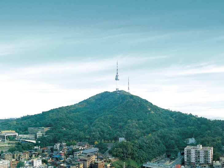 núi Namsan, Hàn Quốc