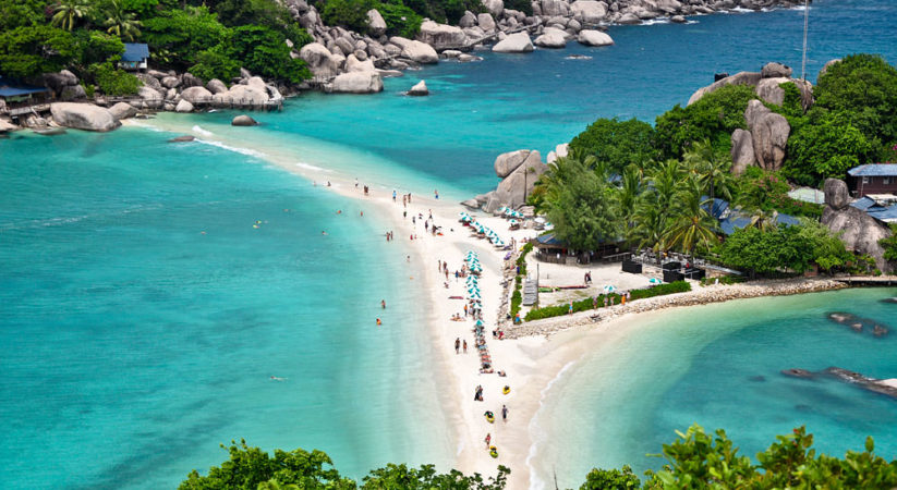 Bãi biển Kok samui Thái Lan