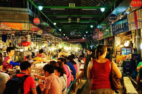 Địa điểm ẩm thực hàn quốc nổi tiếng