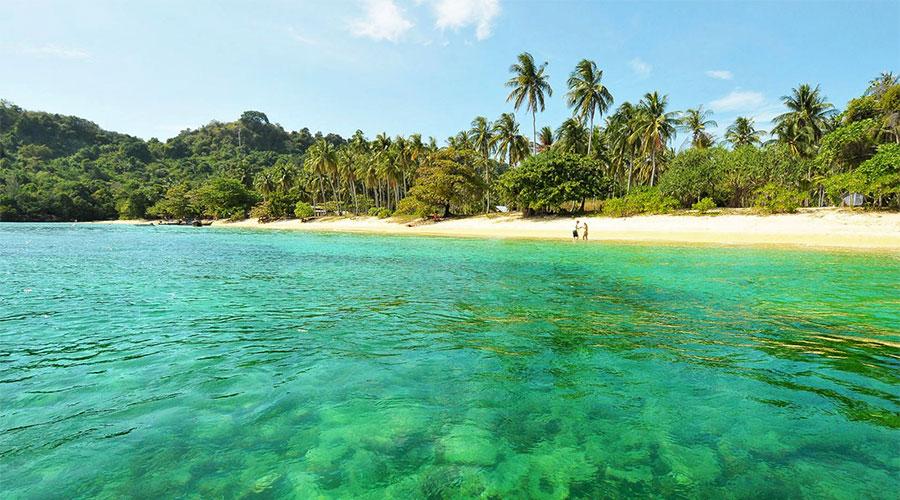 Bãi biển Koh Kradan Thái Lan