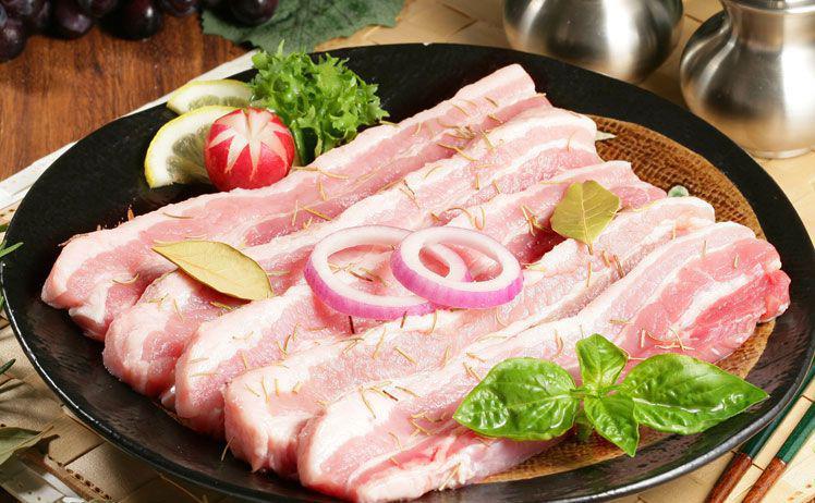 Thịt lợn Hàn Quốc