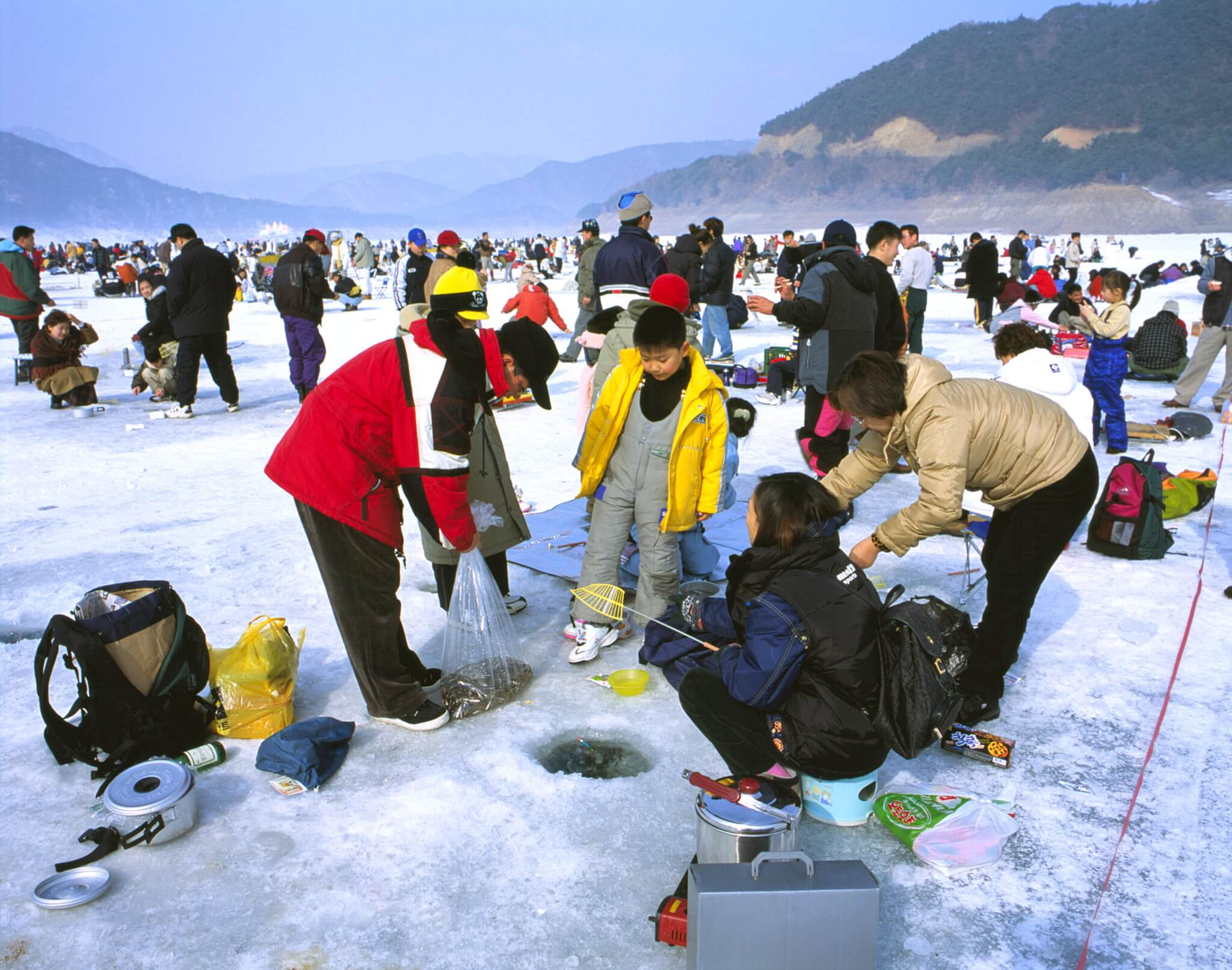 du lịch hàn quốc vào mùa đông có những gì