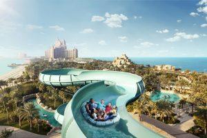 Thưởng ngoạn vẻ đẹp ngỡ ngàng của Aquaventure Park Dubai