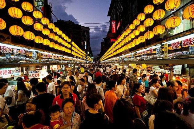 khám phá những chợ đêm nổi tiếng tại đài loan
