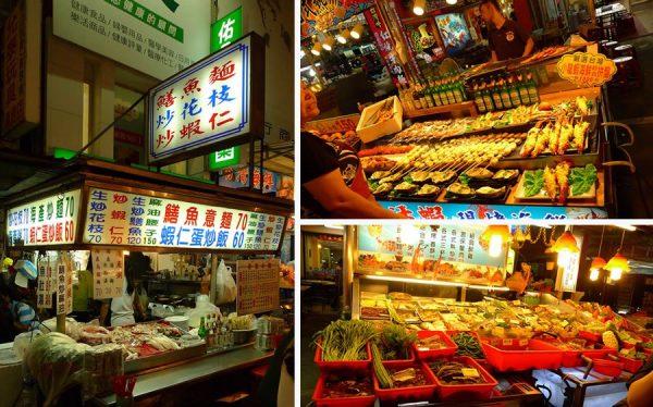 các khu chợ đêm nổi tiếng tại đài loan