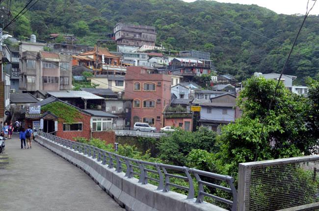 Làng cổ Jinguashi , Đài Loan