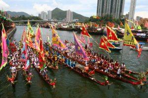 Khám phá nét đặc sắc trong lễ hội đua thuyền rồng tại Đài Loan