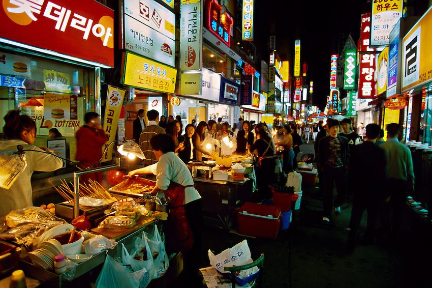 chợ đêm Tapdong