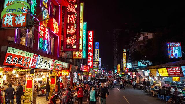 những chợ đêm nổi tiếng tại đài loan