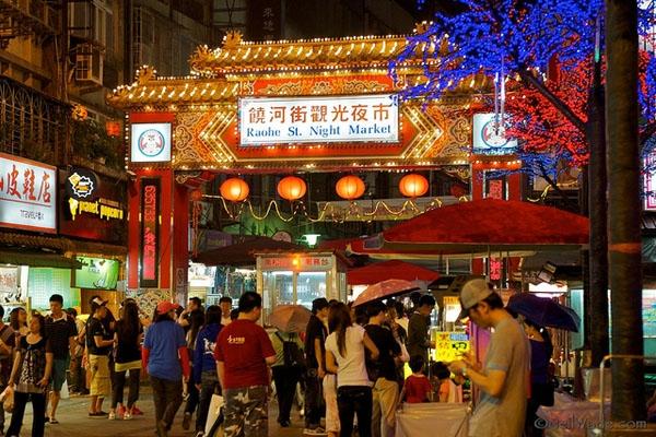 Khám phá nét đặc sắc của chợ đêm Đài Loan