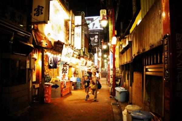 khám phá tokyo về đêm