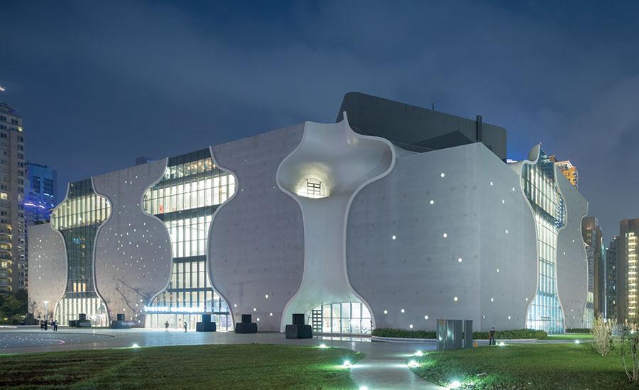 Nhà hát quốc gia Đài Trung, Đài Loan