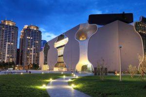 Nhà hát quốc gia Đài Trung, Đài Loan mang vẻ đẹp đặc biệt gì?