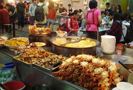 văn hóa chợ đêm đài loan