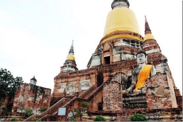 khám phá công viên Ayutthaya