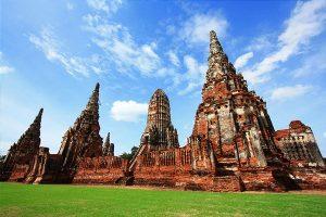 Khám phá công viên lịch sử Ayutthaya