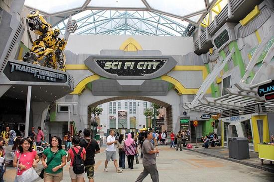 Khu Sci Fi City