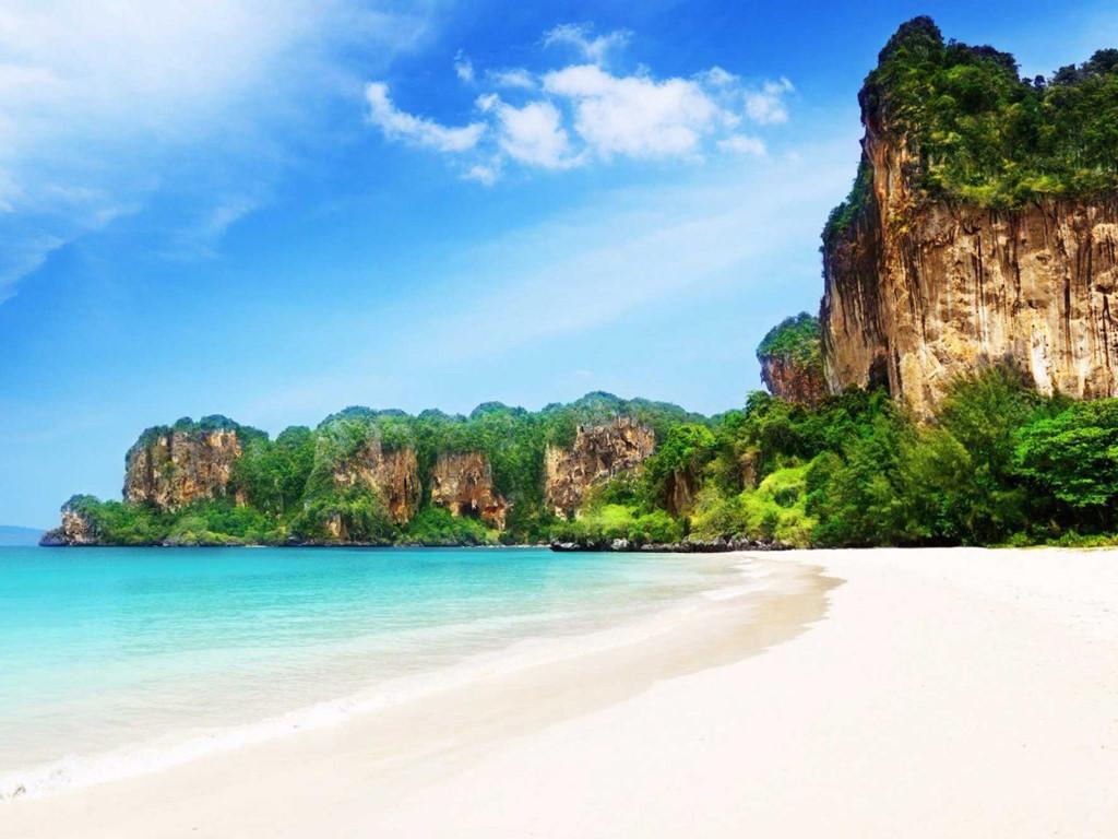 bãi biển railay thái lan