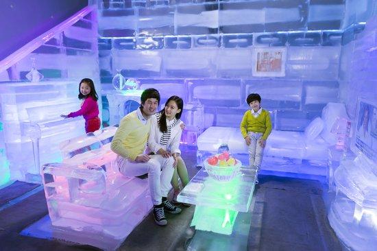 bảo tàng 3D Trick Eye tại Hàn Quốc