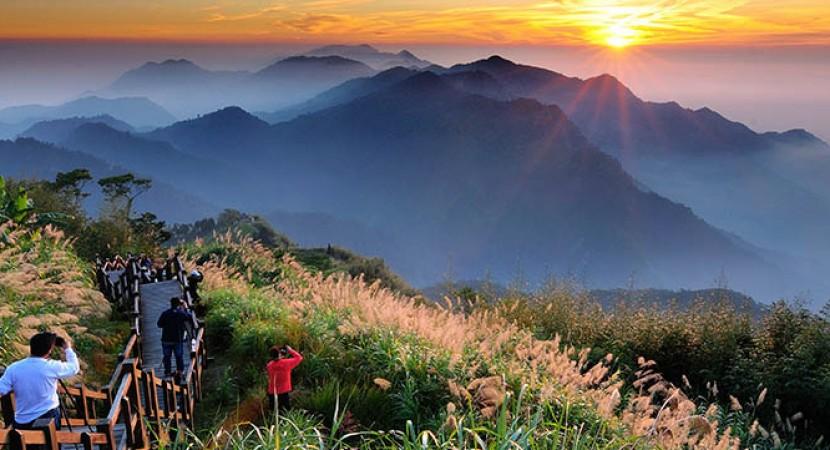 Cao nguyên Alishan Đài Loan