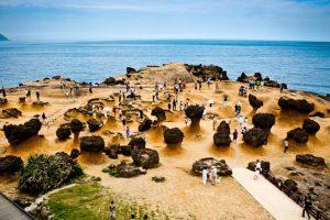 Khám phá công viên địa chất Dã Liễu nổi tiếng tại Đài Loan