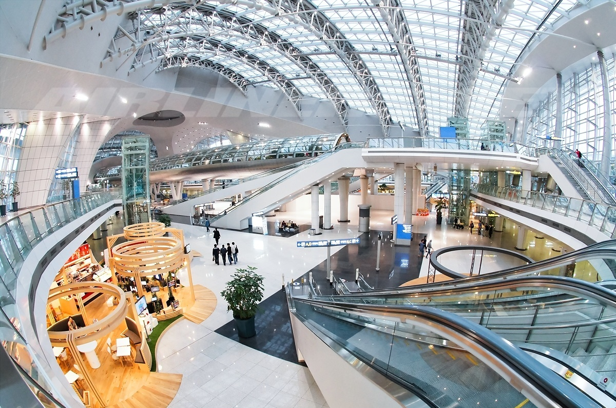 sân bay quốc tế Incheon Hàn Quốc