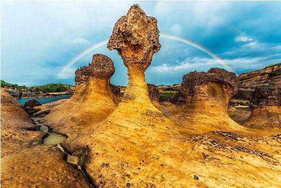 tìm hiểu công viên địa chất dã liễu