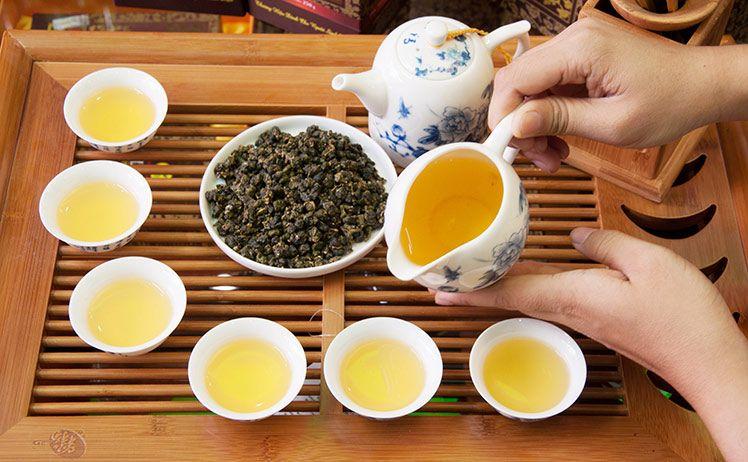 trà Oloong ở cao nguyên Alishan