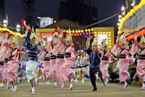Đắm chìm trong các lễ hội khi du lịch Nhật Bản mùa hè