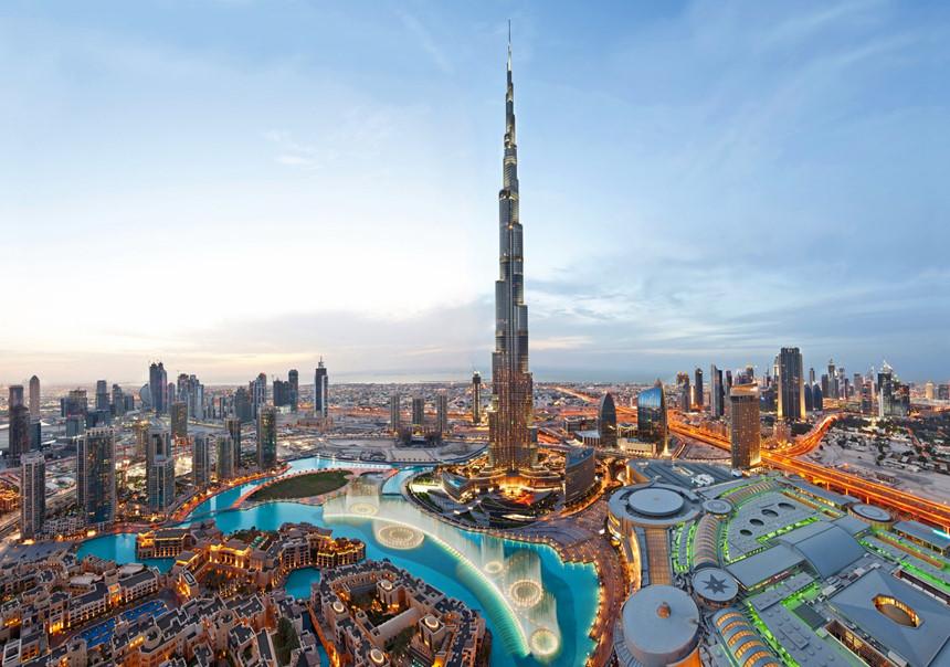 Du lịch Dubai tham quan tòa nhà cao nhất thế giới Burj Khalifa