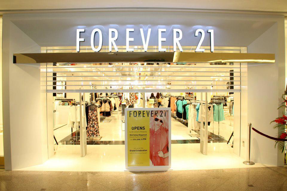 Trung tâm Forever 21, Singapore