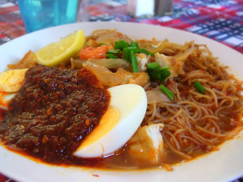 Mỳ Xiêm (Mee Siam), Malaysia