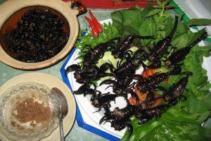 Những món ăn kinh dị tại Singapore – Bạn nên biết?